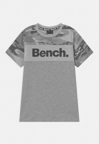 BADEN - Print T-shirt - grey