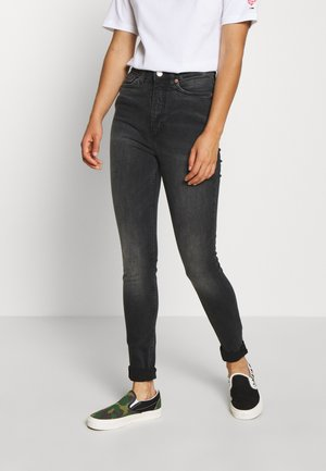 OKI WASHED - Jeans Skinny Fit - black dark