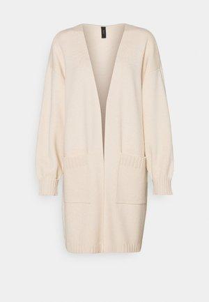 YASSOFFE LONG  - Cardigan - beige