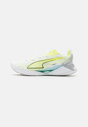 ULTRARIDE  - Neutral running shoes - white/fizzy yellow