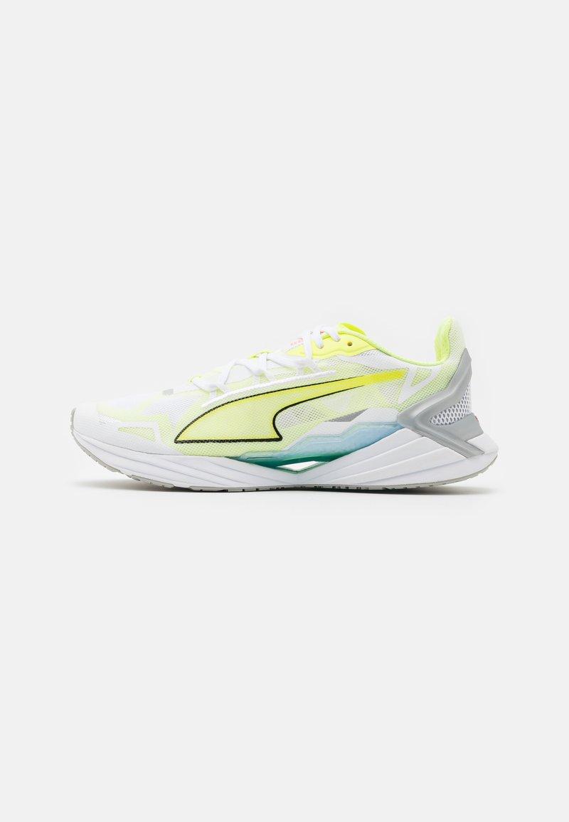 Puma - ULTRARIDE  - Zapatillas de running neutras - white/fizzy yellow
