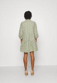 YAS - YASNADINE DRESS - Day dress - shadow - 2