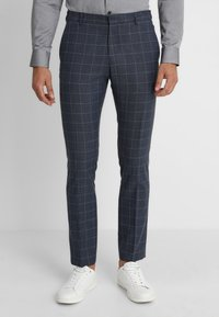 Selected Homme - SLHONE-MYLOAIR CHECK SUIT - Garnitur - dark blue - 4