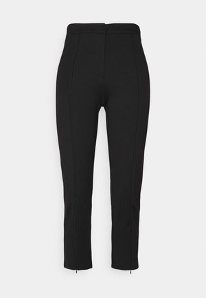 OBJPILARI PANTS - Trousers - black