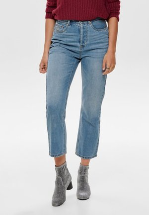 ONLHALEY - Straight leg jeans - light blue denim