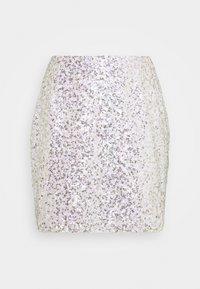 Glamorous - SEQUIN  - Minifalda - gold pink sequin - 1