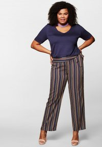 Sheego - Trousers - navy - 1