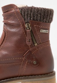 Be Natural - BOOTS - Classic ankle boots - cognac - 2