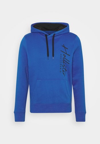 ICONIC PRINT - Hoodie - blue