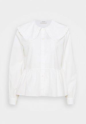 BLOUSES LONG SLEEVE - Button-down blouse - scandinavian white