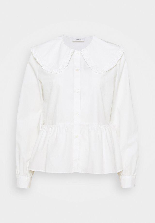 BLOUSES LONG SLEEVE - Camicia - scandinavian white