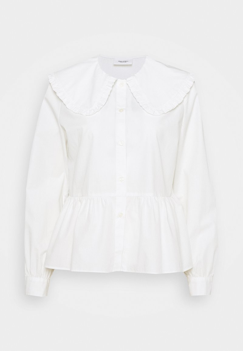 Marc O'Polo DENIM - BLOUSES LONG SLEEVE - Button-down blouse - scandinavian white