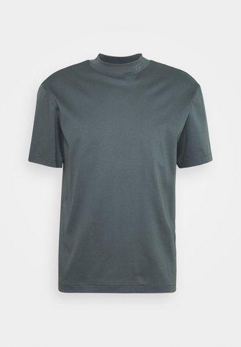 ACE MOCK NECK - T-shirt basic - stormy blue