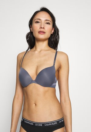 PLUNGE - Push-up bra - chrome