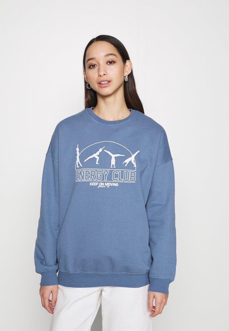 Topshop - ENERGY  - Sweatshirt - blue