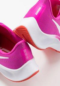 Nike Performance - AIR ZOOM PEGASUS 37 - Neutral running shoes - fire pink/white/team orange/magic ember - 5