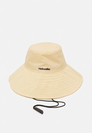RAJAH BUCKET HAT UNISEX - Klobouk - light yellow