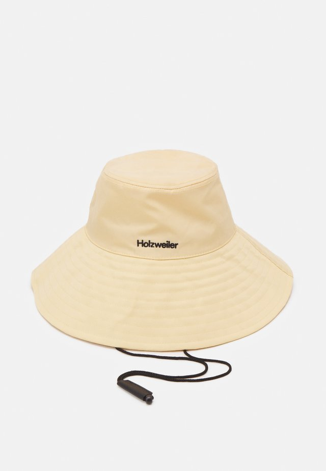 RAJAH BUCKET HAT UNISEX - Chapeau - light yellow