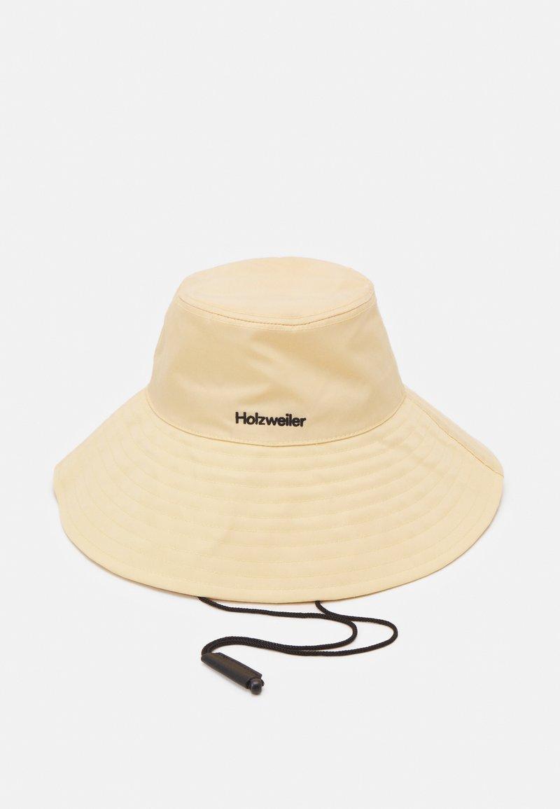 Holzweiler - RAJAH BUCKET HAT UNISEX - Hat - light yellow