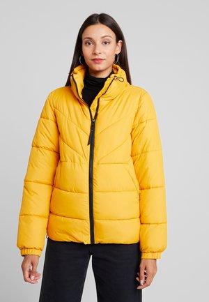 Winter jacket - golden shine yellow