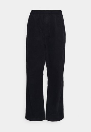 FLINT PANT FORD - Trousers - dark navy rinsed