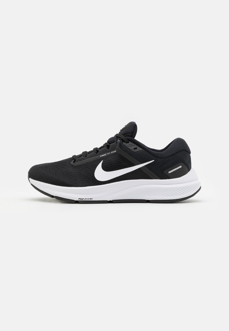 Nike Performance - AIR ZOOM STRUCTURE 24 - Stabilty running shoes - black/white