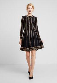 Derhy - NAVIRE - Jumper dress - black - 2