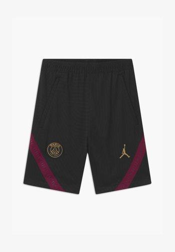PARIS ST GERMAIN UNISEX - Sports shorts - black/truly gold