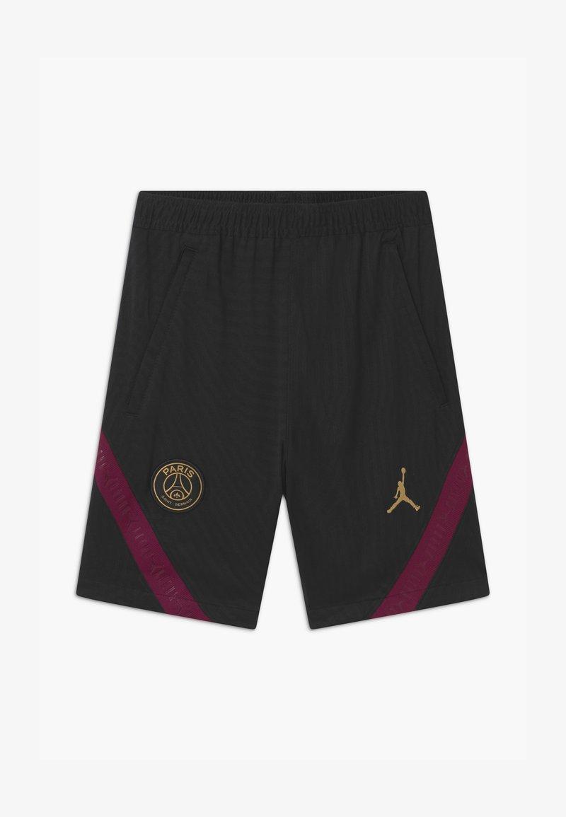 Nike Performance - PARIS ST GERMAIN UNISEX - Sports shorts - black/truly gold