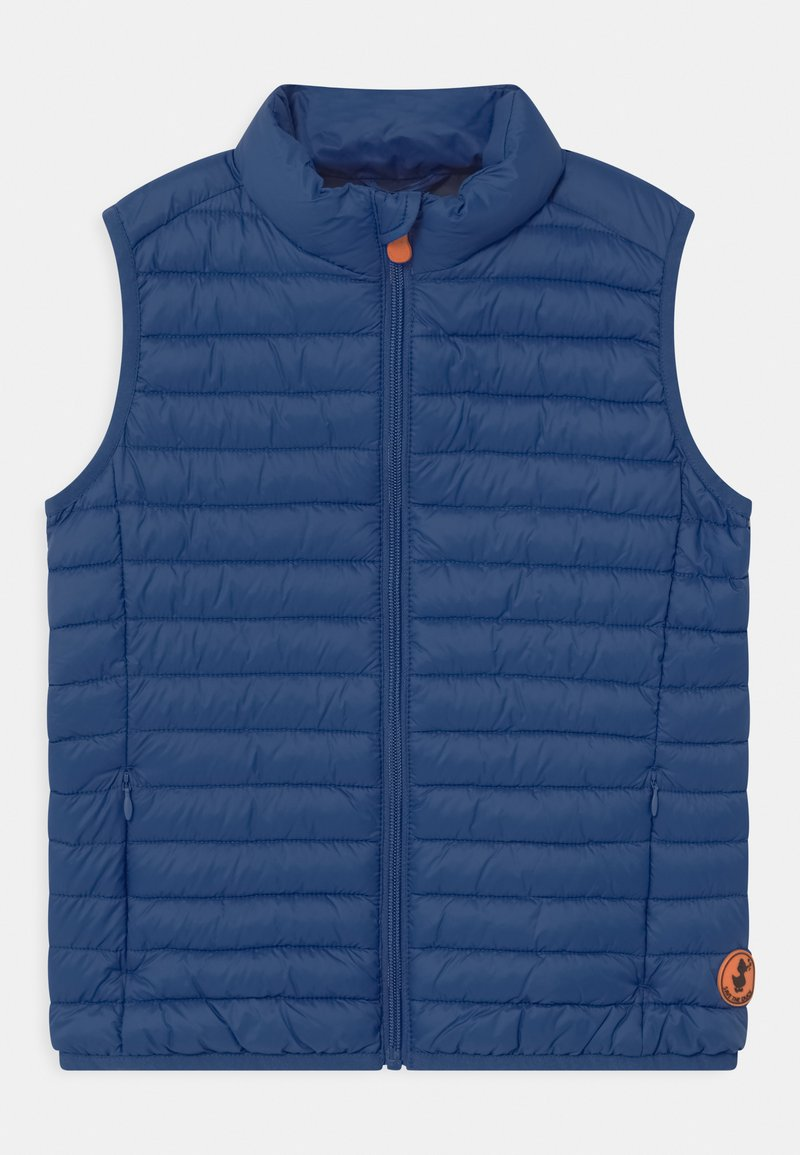 Save the duck - ANDY UNISEX - Waistcoat - snorkel blue