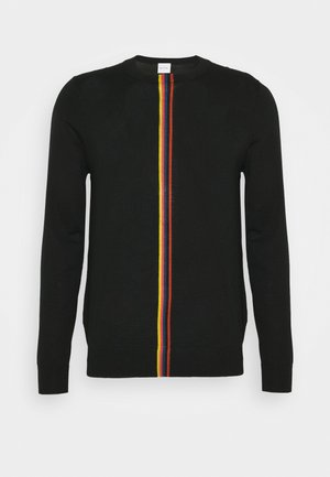 GENTS CREW NECK - Jumper - black