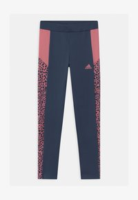 adidas Performance - LEO UNISEX - Leggings - crew navy/hazy rose - 0