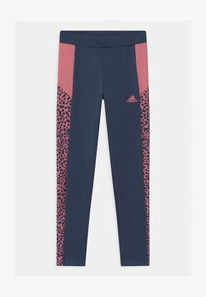 LEO UNISEX - Legging - crew navy/hazy rose