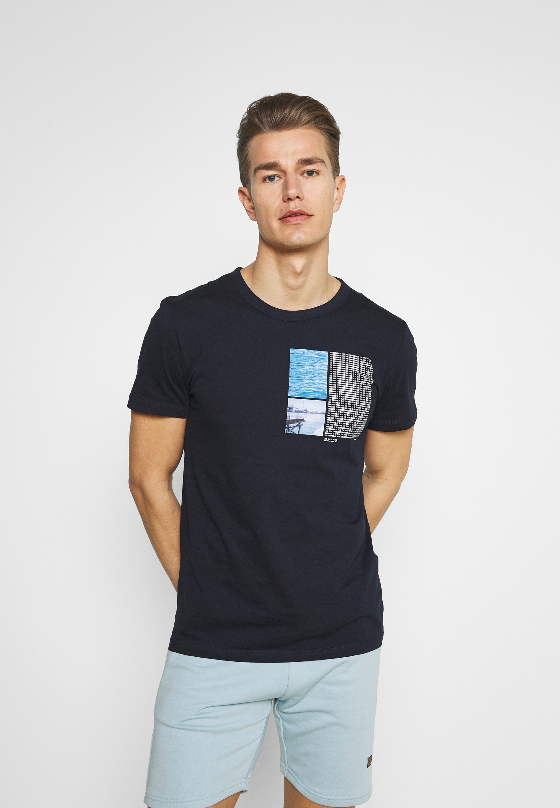 Men WITH FOTOPRINT - Print T-shirt