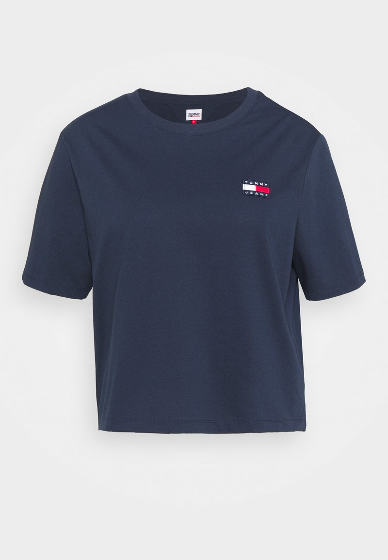 Tommy Jeans Curve - BADGE TEE - T-shirt con stampa - twilight navy