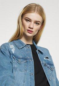 Vero Moda - VMOLIVIA JACKET - Denim jacket - medium blue denim - 4
