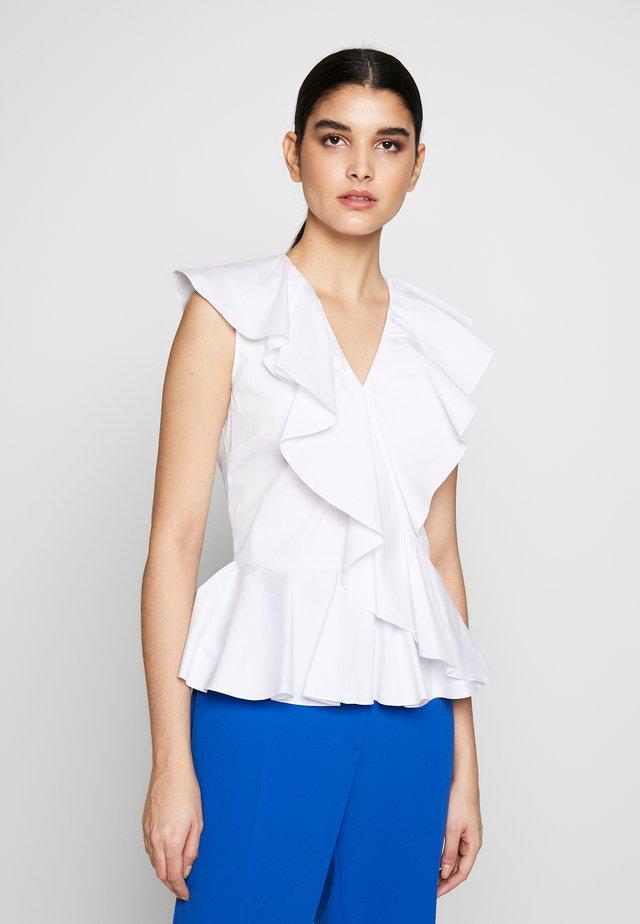 MYRA BLOUSE - Bluser - white
