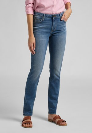 ELLY - Jeans slim fit - mid worn martha