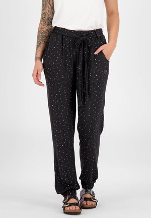 ALICEAK - Tracksuit bottoms - black