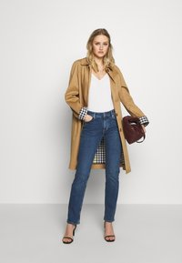 s.Oliver - Slim fit jeans - blue denim - 1