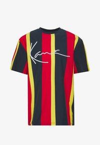 Karl Kani - UNISEX SIGNATURE STRIPE TEE - Print T-shirt - navy - 4