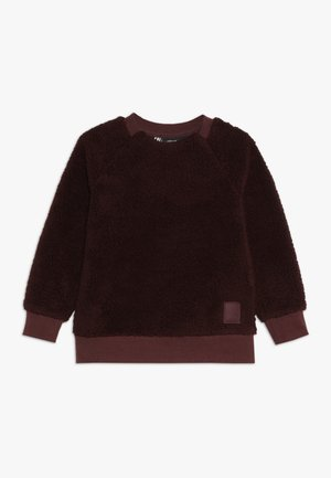 SIKEN KIDS CREWNECK - Fleecepaita - old rust