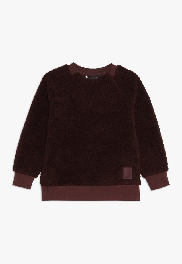 SIKEN KIDS CREWNECK - Sweat polaire - old rust