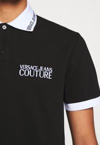 Versace Jeans Couture - PLAIN - Polo shirt - nero - 6