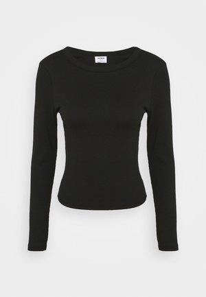 THE TURN BACK LONG SLEEVE - Topper langermet - black