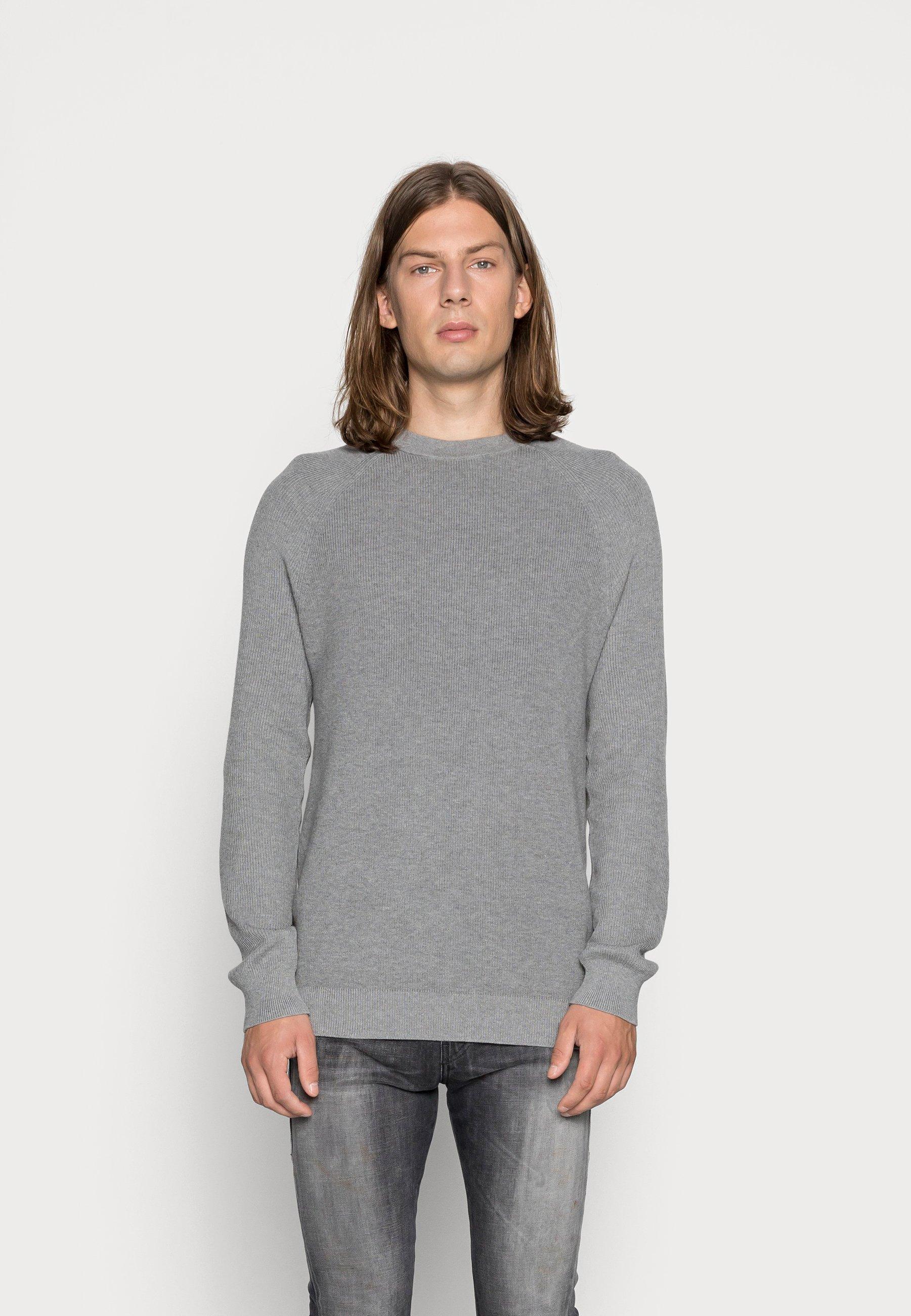 Uomo Maglione - medium grey