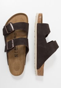 Birkenstock - ARIZONA - Pantuflas - steer soft brown
