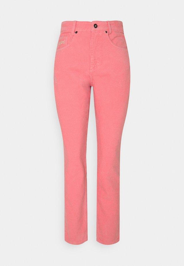 TROUSER - Tygbyxor - pink