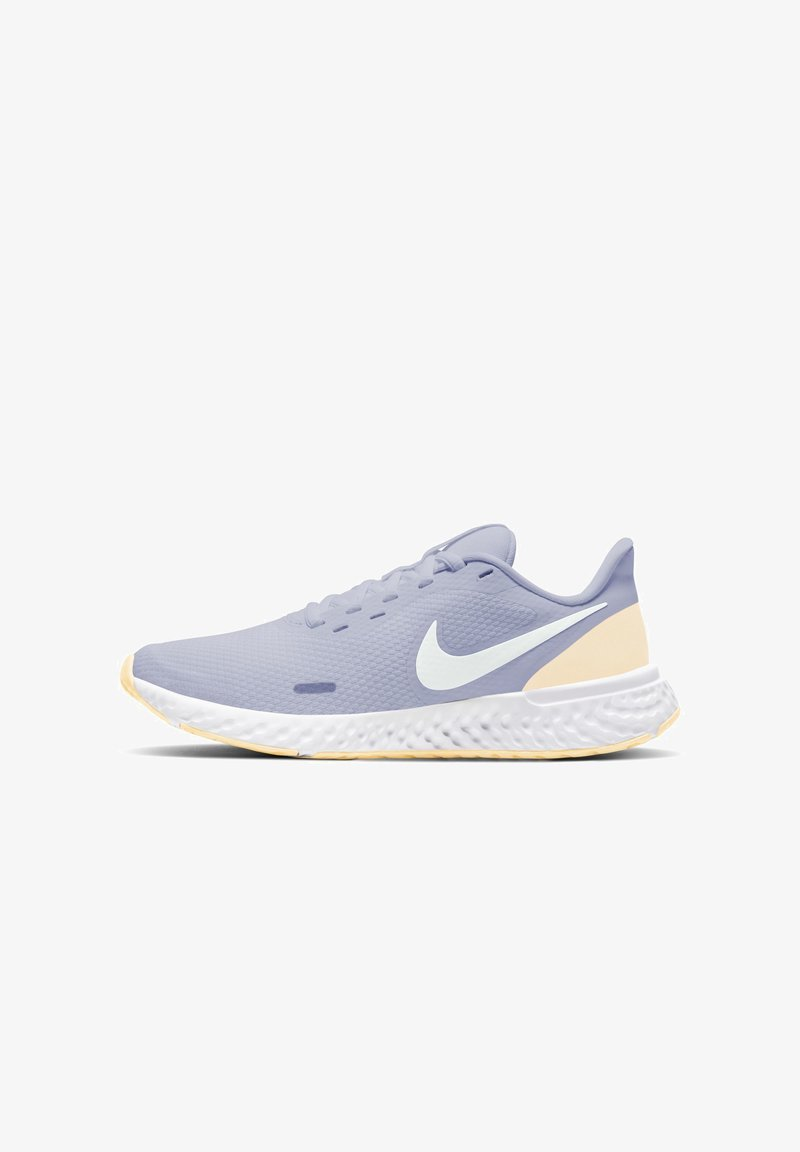 Nike Performance - REVOLUTION 5 - Neutral running shoes - ghost/world indigo/guava ice/summit white