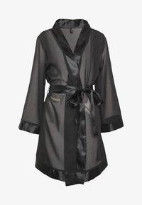 KIMONO - Dressing gown - black